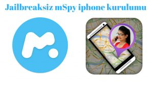 "MSpy iphone kurulumu ""jailbreaksiz"""